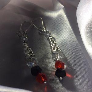 Handmade by Lucy Jewelry - Lady bug earrings